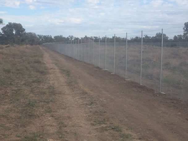 Perimeter Security Fencing to Walgett and Lightning Ridge