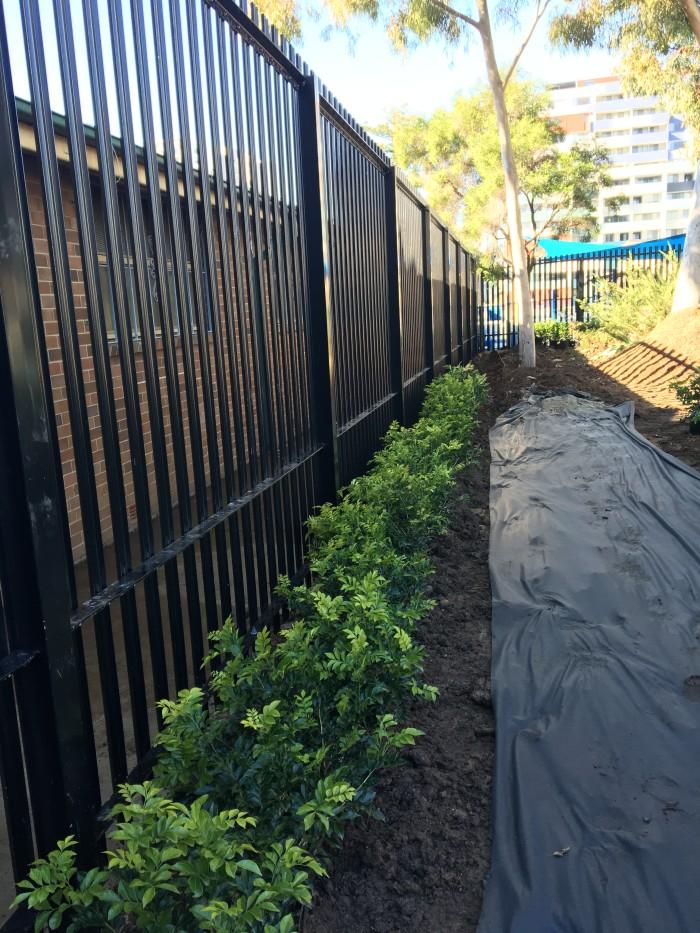 Fence Upgrade at Lancer Barracks